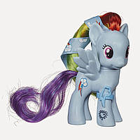 My Little Pony  - Рейнбов Деш зі стрічкою (Май Литл Пони Радуга с лентой, Rainbow Dash Figure)