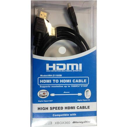Кабель мультимедийный HDMI A to HDMI D (micro), 1.0m Atcom (15267), фото 2
