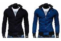 Мужская куртка строчка-ромб