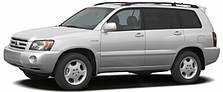 Фаркопы на Toyota Highlander (2003-2010)