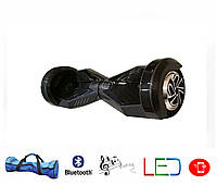 Гироскутер Lambo 8′ digital карбон (Led, Bluetooth, пульт, сумка)