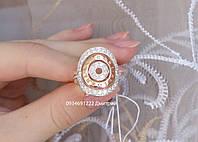 Кольцо из серебра Булгари