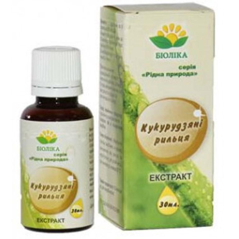 Экстракт-концентрат Кукурузных рыльцев при заболевании печени - Салюс-экологически чистые продукты, натуральная косметика  в Одессе