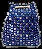 Женский пляжный рюкзак якорь синего цвета UUU-000023