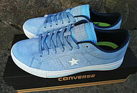 Кеды женские Converse All Star. Нежный голубой красивый цвет. Отличное, шикарное качество
