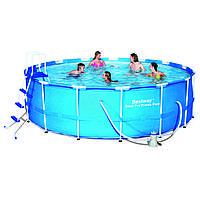 Каркасный бассейн Bestway (457х122) без уборочного комплекта