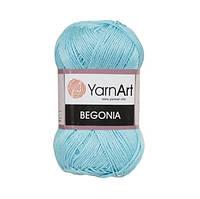 Пряжа Begonia голубой