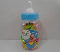 Набор из 12 погремушек в бутылочке с соской | «Baby Rattles»