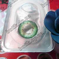 Зеленые линзы для глаз. Недорого. Бесплатная доставка.