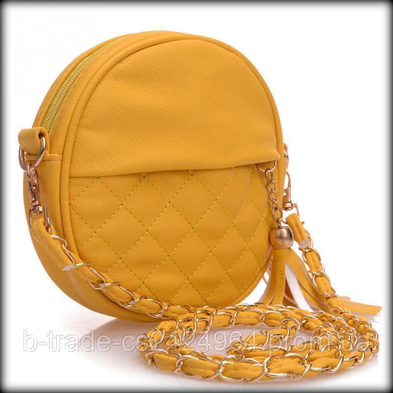9e8ac06931d1 Женская сумочка Chanel Шанель стеганая круглая, цена 225 грн., купить в  Харькове — Prom.ua (ID#526092052)