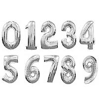 Воздушный шар фольгированный цифра