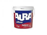 Моющаяся  краска для стен и потолков Mattlatex Aura Eskaro 1 л.