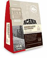 Акана лайт энд фит для взрослых собак всех пород с избыточным весом (acana light and fit) 11,4кг