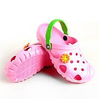 Кроксы для девочки Jose Amorales светло-розовые 220007