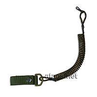 Страховочный шнур, спиральный camo-2