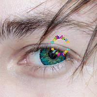 Линзы цветные для глаз. Бесплатная доставка.
