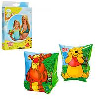Детские надувные нарукавники для плавания Intex 56644 «Винни Пух»