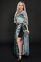 Платье шифоновое мод 432-3,размер 44-46