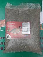 Повнораціонний гранульований комбікорм  для перепілок-несучок від 28 дня 5 кг мешок прозрачный полиэтиленовый