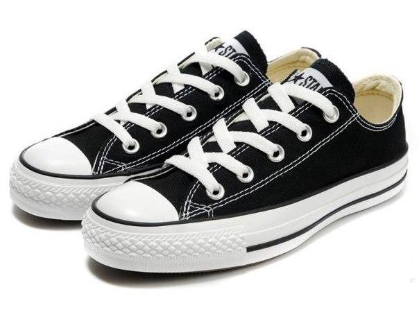 Купить Кеды мужские Converse All Star черно-белые в Украине. d79d97c3787