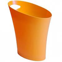 Ведро для бумаг Trento 29987 оранжевое