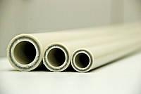 Труба полипропиленовая армированная стекловолокном хит-пласт fiber PN 16 Ø90