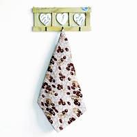 Вафельная ткань кухонное полотенце Кофе
