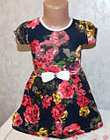 Платье на девочку 1-2,3-4,5-6 лет 100 % хлопок, фото 2