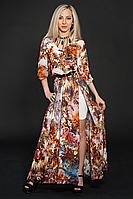Платье шифоновое мод 432-5,размер 46-48