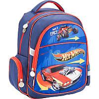 Рюкзак школьный ортопедический 510 Hot Wheels для младших классов (HW17-510S)