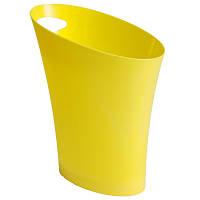 Ведро для бумаг Trento 29986 желтое