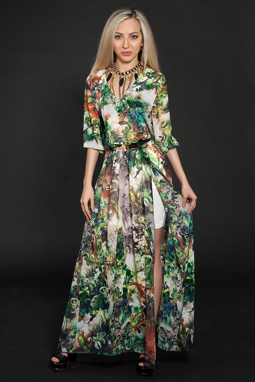 Платье шифоновое мод 432-6,размер 44-46,46-48
