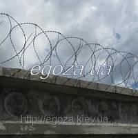 Концертина СББ 400/5 спиральная колючая проволока