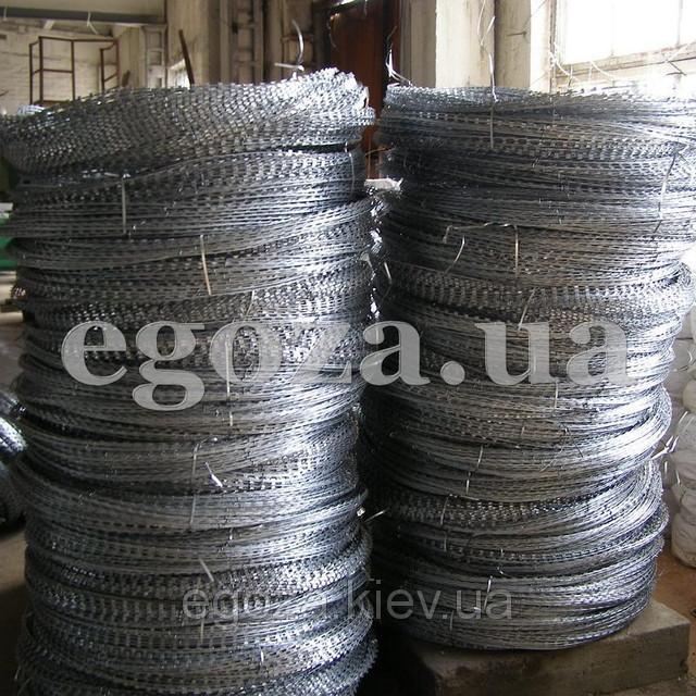 Егоза Стандарт 800/5 спиральная колючая проволока