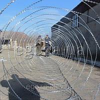 Егоза Аллигатор 1500/7 спиральная колючая проволока, фото 1