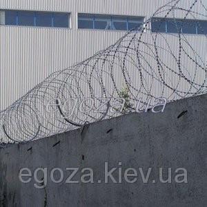 Егоза Стандарт 450/5 колючая проволока спиральная