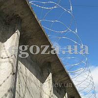 Егоза-Стандарт 450/3, колючая проволока спиральная