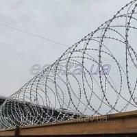 Егоза Стандарт 700/5 спиральная колючая проволока , фото 1