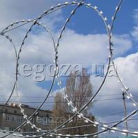 Егоза Супер 750 плоское ограждение из колючей проволоки, фото 1