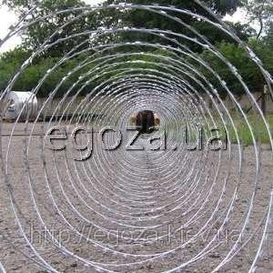 Проволока колючая Егоза Кайман 1500/11 спираль