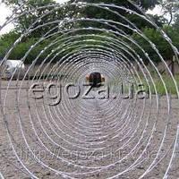 Проволока колючая Егоза Кайман 1500/11 спираль, фото 1