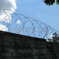 Колючая проволока Концертина 500/3 спиральный барьер, фото 1