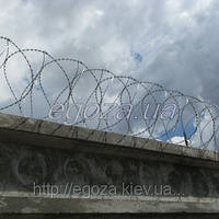 Спираль Бруно Концертина 400/3 колючая проволока