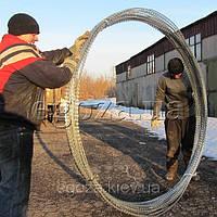 Проволока Егоза Супер 2000/9 колючее ограждение