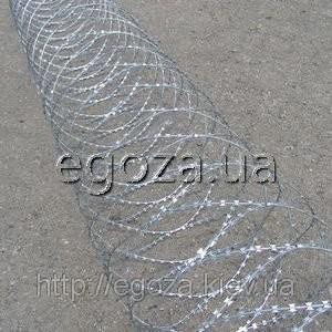 Проволока колючая Гюрза 600/5 заграждение спиральное