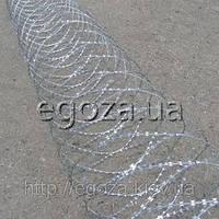 Проволока колючая Гюрза 600/5 заграждение спиральное, фото 1