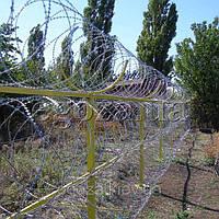 Егоза Супер 1250/7 спиральный барьер из колючей проволоки