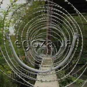 """Кронштейн для крепления спиральных барьеров СББ Егоза 600, 700 - ПГ """"Кайман в Киеве"""