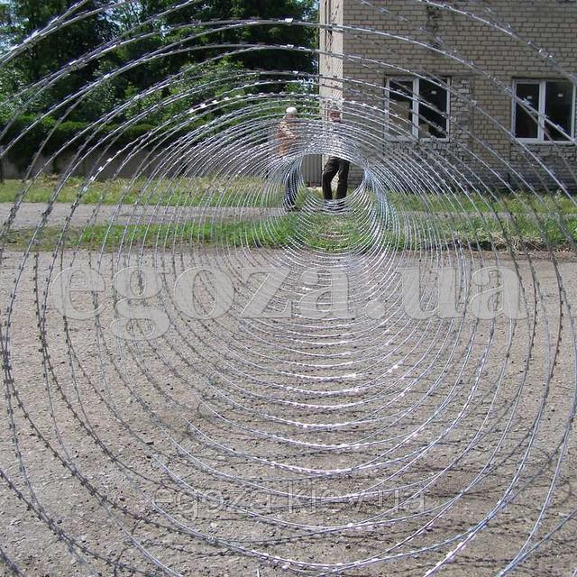 Егоза Кайман 1250/7 спиральная колючая проволока, фото 1