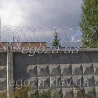 Концертина 600/3 СББ проволока колючая спираль ЗКР-С